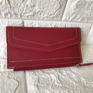NEW Red tone charming small purse